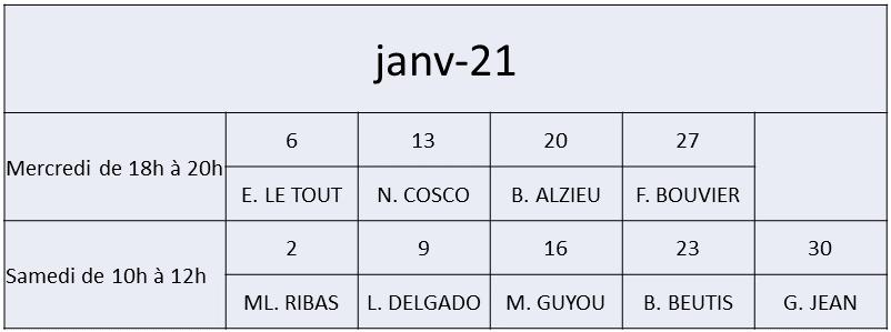 JANVIER 2021 be9f5