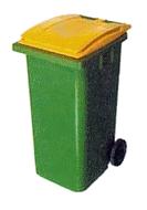 poubelle jaune 2